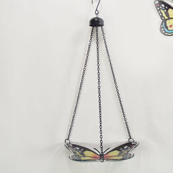 Butterfly Birdbath by Continental Art Center