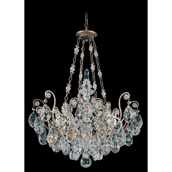 Renaissance 8-Light Chandelier by Schonbek