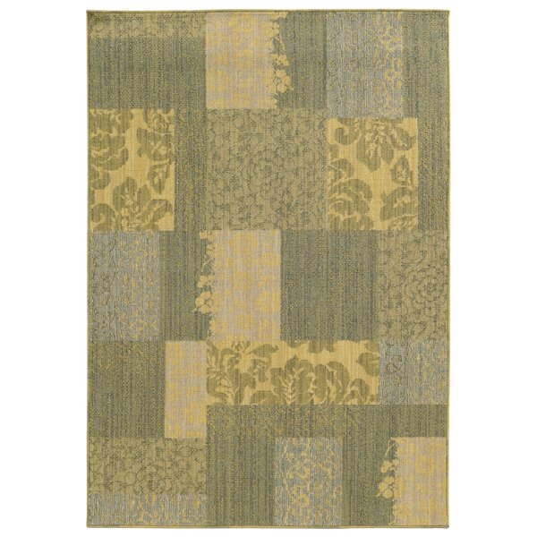 Tommy Bahama Cabana Blue & Beige Geometric Rug by Tommy Bahama Home