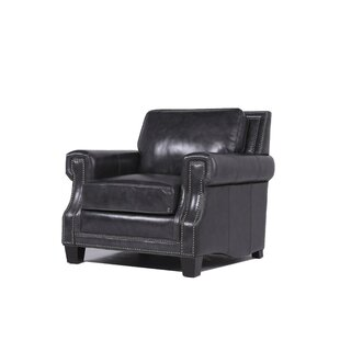 Riley Leather Club Chair By Trent Austin Design