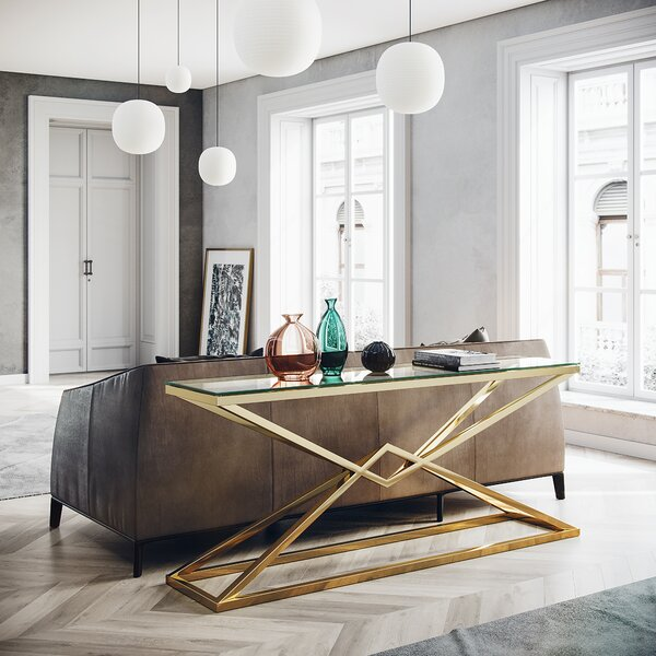 Mongillo Console Table By Orren Ellis