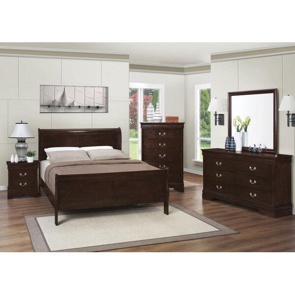 Rayna Panel Configurable Bedroom Set by Charlton Home