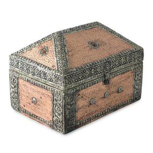 Inexpensive Palatial Brass Jewelry Box ByBloomsbury Market