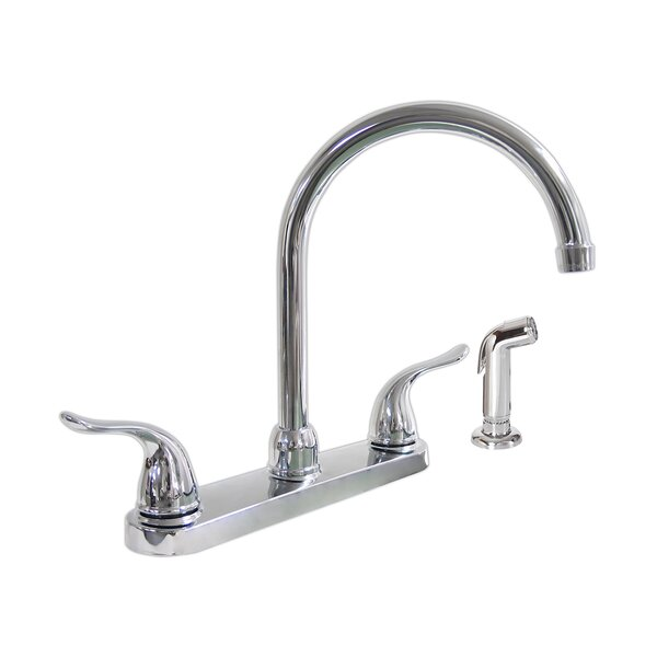 Double Handle Kitchen Faucet by Dominion Faucets