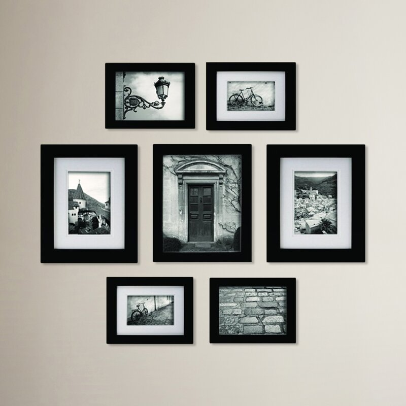 Red Barrel Studio Morell Blackstone 7 Piece Gallery Snapshot Picture ...