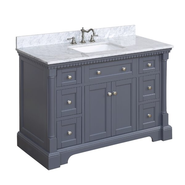 Sydney 48 Single Bathroom Vanity Set by Kitchen Bath Collection