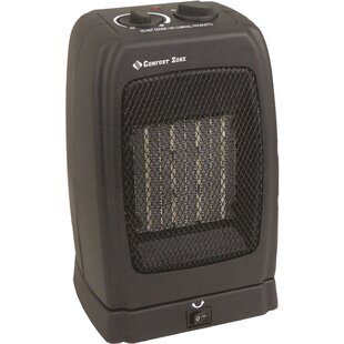 Electric Fan Compact Heater by Comfort Zone