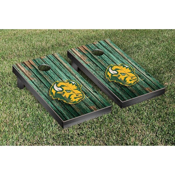 NCAA Weathered Version 1 Cornhole Game Set by Victory Tailgate