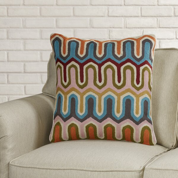 Evangelista Arrow Cotton Throw Pillow (Set of 2) by Brayden Studio