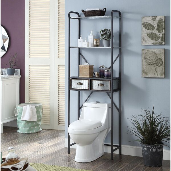 Amber 23.6 W x 72.6 H Over the Toilet Storage by Gracie Oaks