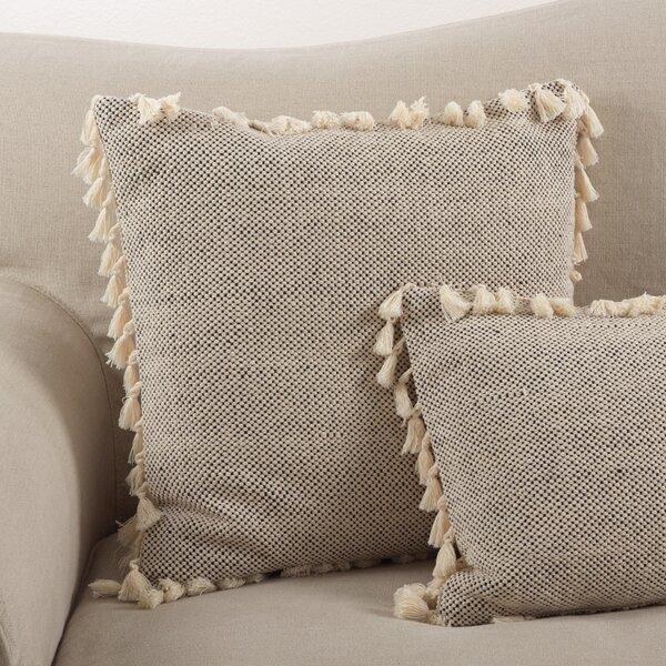 Hartwell Boho Tassel Cotton Throw Pillow by Mistana