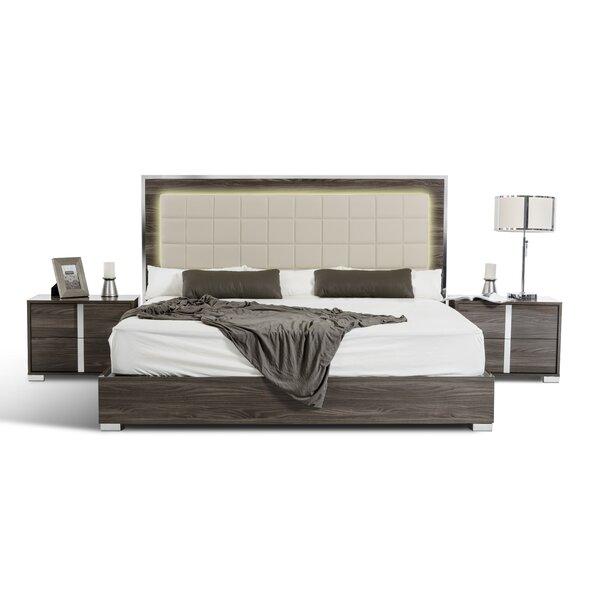 Demaria Solid Wood 3 Piece Bedroom Set by Orren Ellis