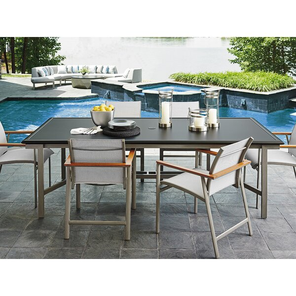 Del Mar 7 Piece Teak Dining Set by Tommy Bahama Home