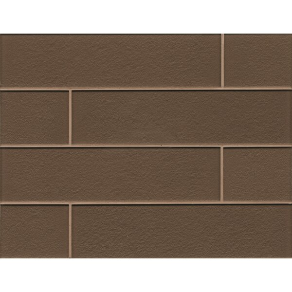 Remy Glass Field Tile Gloss in Brown by Grayson Martin