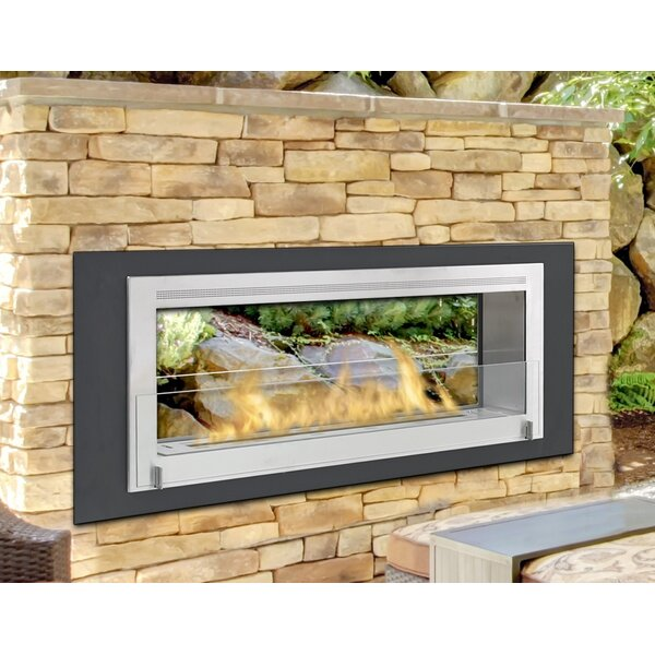 Santa Cruz 2 Sided Bio-Ethanol Outdoor Fireplace by Eco-Feu