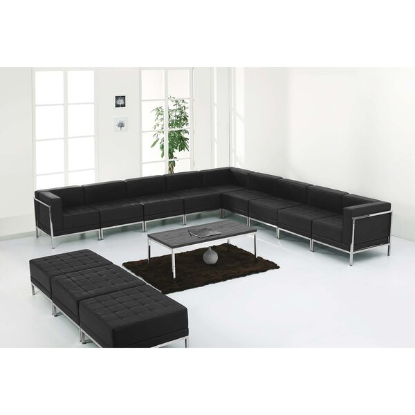 Bouffard Melrose Modular Sectional Ottoman With Ottoman By Orren Ellis Comparison