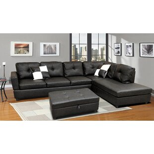 Skillman Moduler Sectional with Ottoman