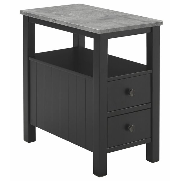 Review Copley 2 Drawer End Table