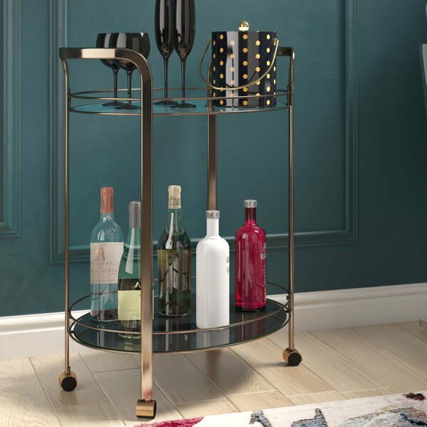 Livia Bar Cart by Willa Arlo Interiors Willa Arlo Interiors