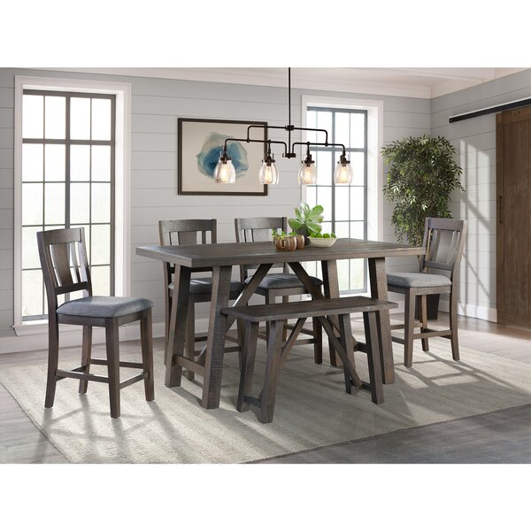 Sorrentino 6 Piece Pub Table Set by Millwood Pines