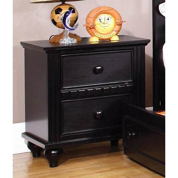 Kennedy 2 Drawer Nightstand by Hokku Designs