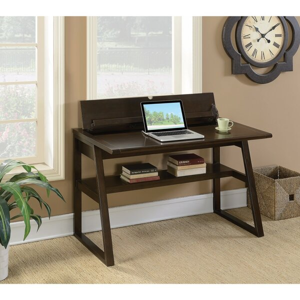 Keeton Wooden Desk with Flip-Top by Winston Porter