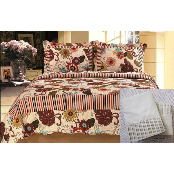 Organ 7 Piece Reversible Quilt Set by Winston Porter