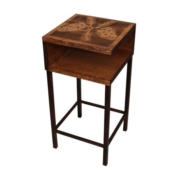 Rosevale End Table by Millwood Pines Millwood Pines