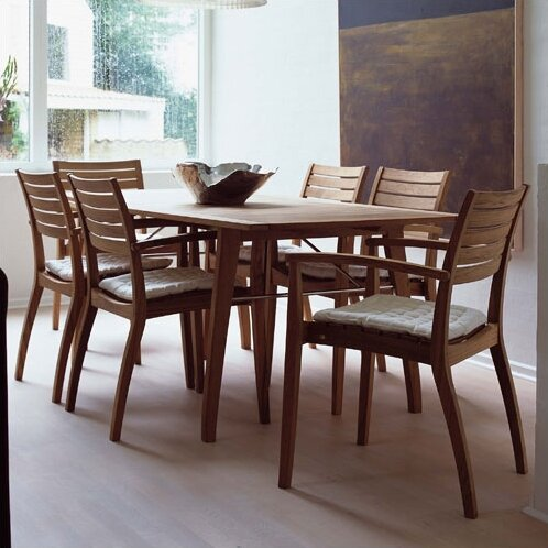 Ballare Teak Dining Table with Joint Filler by Skagerak Denmark
