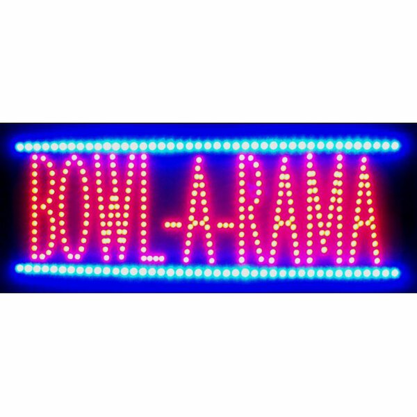 Bowl-A-Rama LED Sign by Neonetics