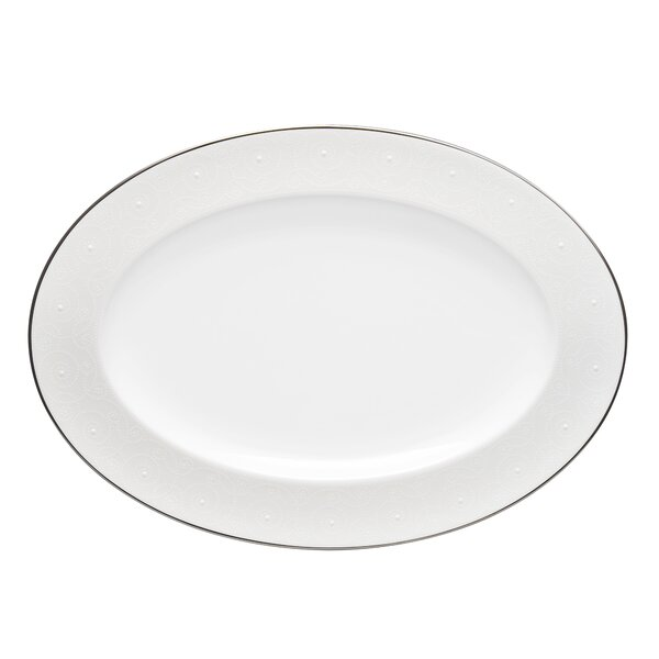 Ventina 14 Oval Bone China Platter by Noritake