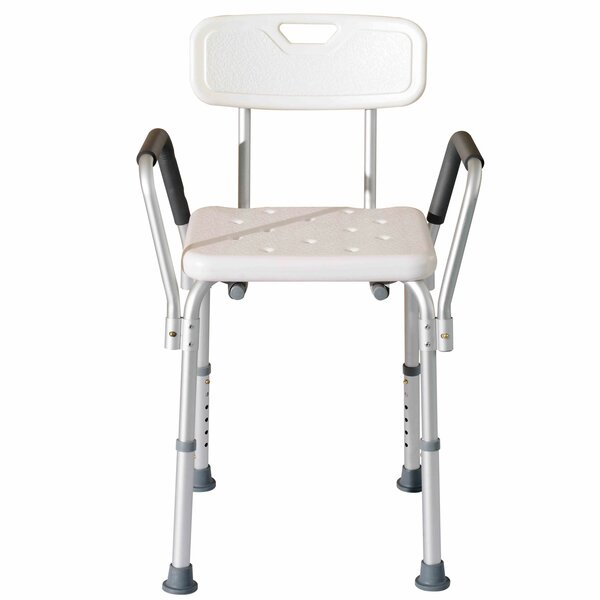 Adjustable Medical Shower Seat by HomComAdjustable Medical Shower Seat by HomCom