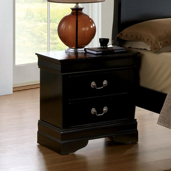 Alvarez 2 Drawer Nightstand by Darby Home Co