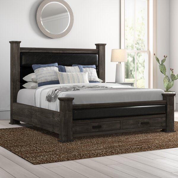 Katarina Storage Upholstered Platform Bed by Mistana