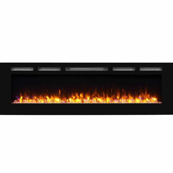 Callan Recessed Wall Mounted Electric Fireplace by Latitude Run