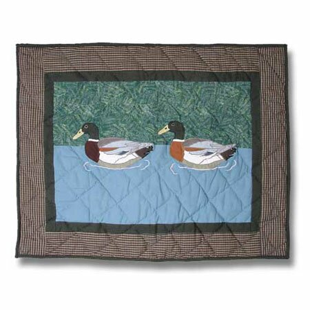 Mallard Placemat (Set of 4) by Patch Magic
