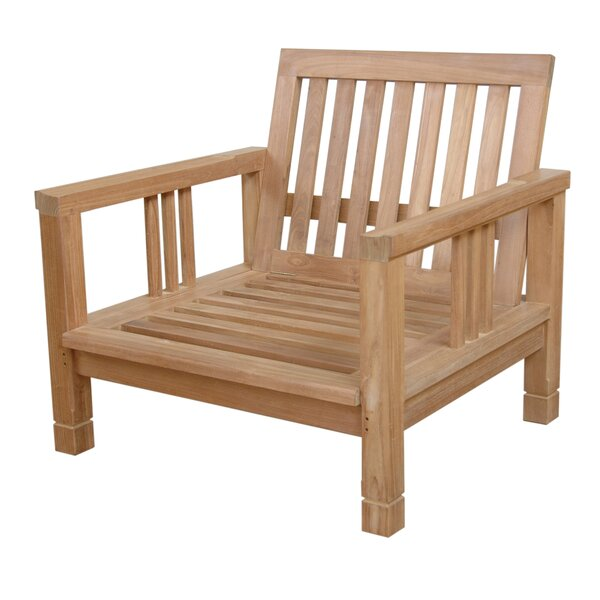 South Bay Teak Patio Chair by Anderson Teak