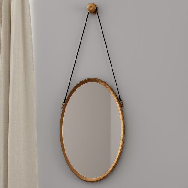 Pembroke Strap Accent Mirror by Alcott Hill
