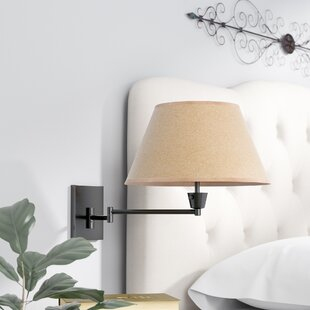 Swing arm wall lamps youll love wayfair save aloadofball Image collections