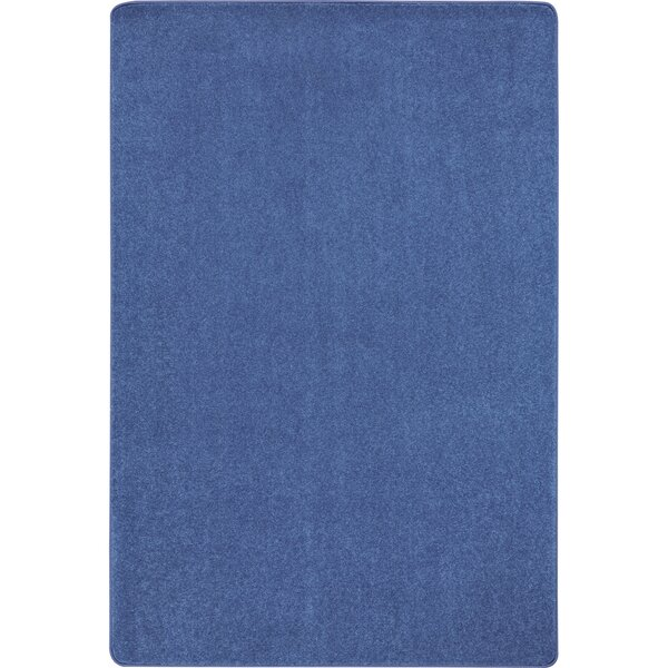 Cobalt Blue Area Rug by The Conestoga Trading Co.