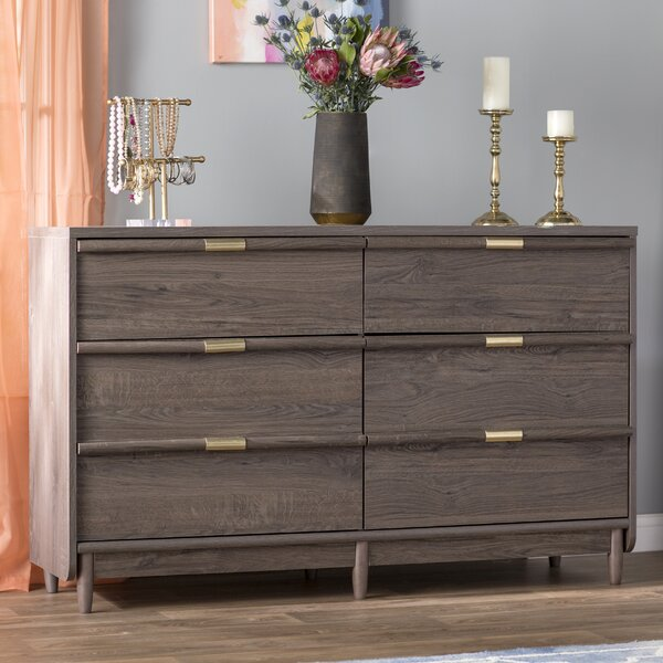 Broadridge 6 Drawer Double Dresser by Willa Arlo Interiors