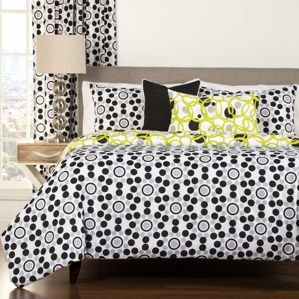 Arevalo Reversible Duvet Cover and Insert Set