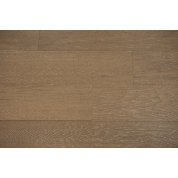 Venice 6-1/2 Engineered Oak Hardwood Flooring in Biscotti by Branton Flooring Collection