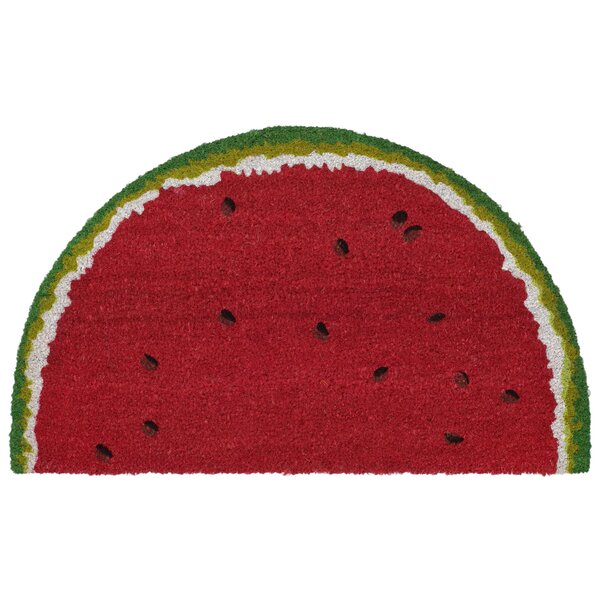 Brookstone Watermelon Red Indoor/Outdoor Area Rug by Bay Isle Home