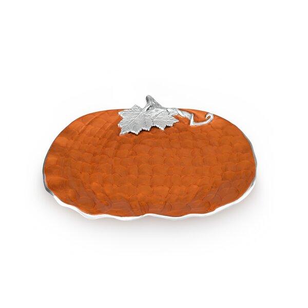 Pumpkin 17 Platter by Julia Knight Inc
