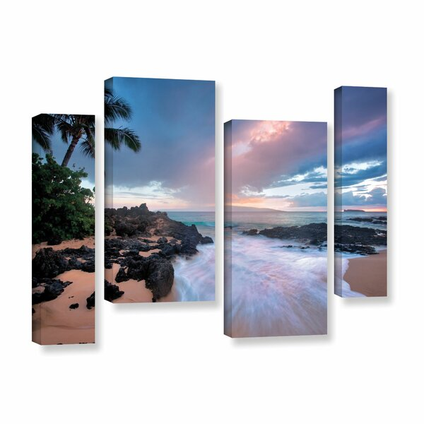 Cool Breeze 4 Piece Photographic Print on Wrapped Canvas Set by Latitude Run