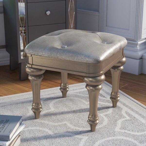 Annunziata Vanity Stool by Willa Arlo Interiors