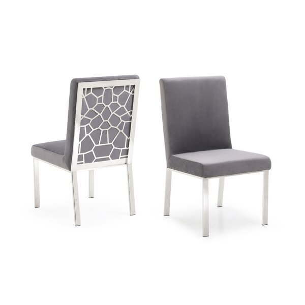 Middlet Modern Upholstered Dining Chair (Set of 2) by Everly Quinn
