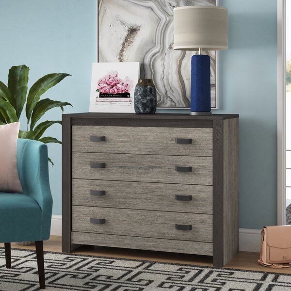 Salerna 4 Drawer Sideboard by Brayden Studio Brayden Studio