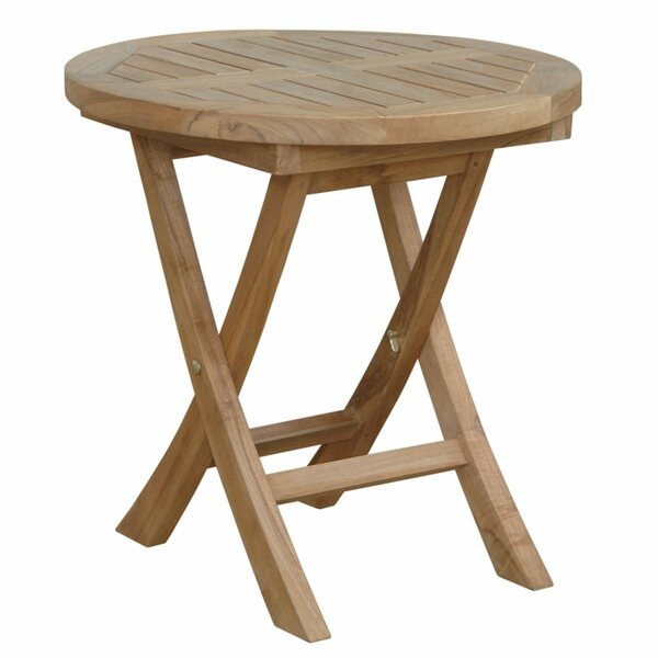 Bourque Solid Wood Side Table by Freeport Park